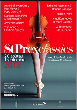 St Prex Classics with Nigel Kennedy and Richard Galliano |